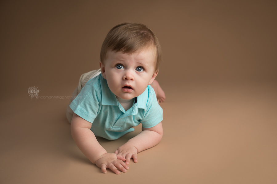 9 Month Old boy photo session
