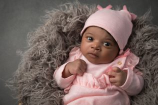1 month baby girl